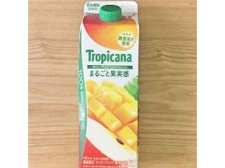 トロピカーナ 100% まるごと果実感 マンゴーブレンド パック900ml