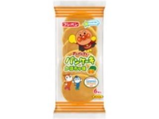 フジパン アンパンマンのパンケーキ かぼちゃ味 袋6枚
