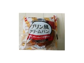 プリン風クリームパン