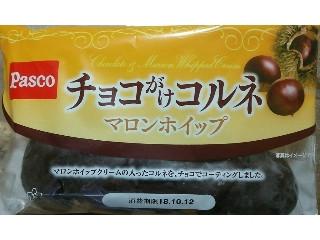 Pasco チョコがけコルネ マロンホイップ 袋1個