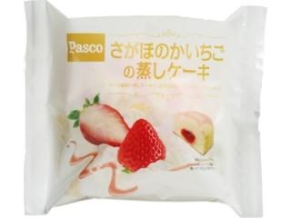 Pasco さがほのかいちごの蒸しケーキ 袋1個