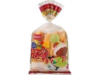 Pasco スナックパン さつまいも クリスマス限定パッケージ 袋8本