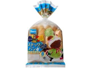 Pasco スナックパン スイートミルク クリスマス限定パッケージ 袋8本