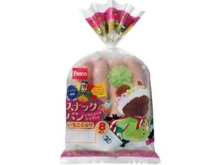 Pasco スナックパン いちごミルク クリスマス限定パッケージ 袋8本
