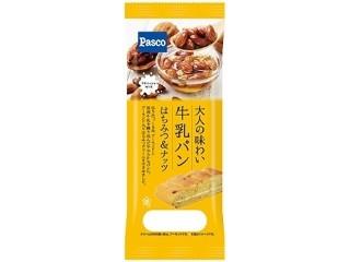 大人の味わい牛乳パン はちみつ&ナッツ