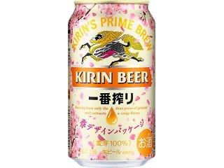 KIRIN 一番搾り 生ビール 春デザインパッケージ 缶350ml