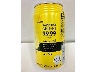 サッポロ サッポロチューハイ99.99 クリアレモン 缶350ml