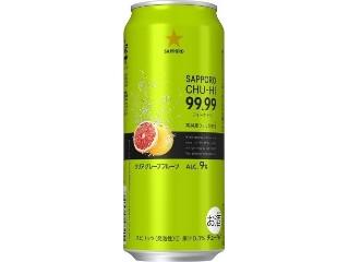 サッポロ チューハイ 99.99 クリアグレープフルーツ 缶500ml