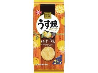 亀田製菓 うす焼グルメ ゆず一味 袋75g