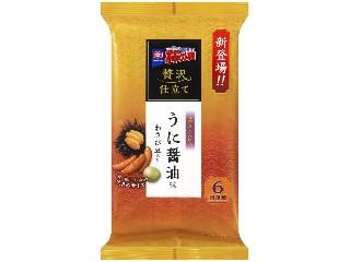 亀田製菓 贅沢仕立て 亀田の柿の種 うに醤油味 袋150g
