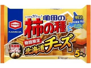 亀田製菓 亀田の柿の種 北海道チーズ味 袋5包