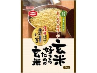 亀田製菓 玄米好きのための玄米 袋2kg