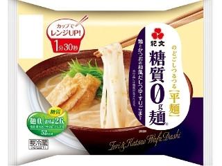 紀文 糖質0g麺 鶏とかつおの和風だしつゆ付き 袋176g