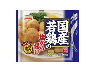 国産若鶏の塩から揚げ