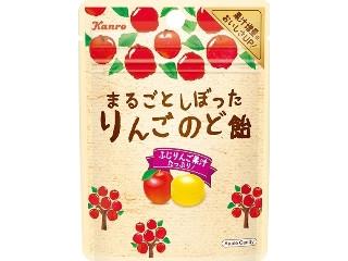 カンロ まるごとしぼったりんごのど飴 袋26g