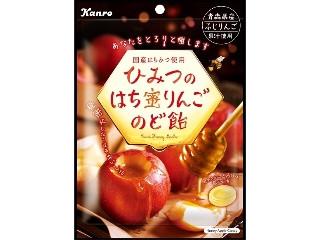 カンロ ひみつのはち蜜りんごのど飴 袋75g