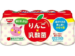 日清ヨーク りんご乳酸菌 ボトル65ml×10