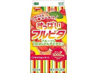 日清ヨーク すっぱいフルビタ アセロラ&レモン パック500ml