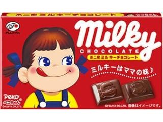 不二家 ミルキーチョコレート 箱12粒