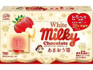 ホワイトミルキーチョコレート あまおう苺