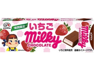 不二家 ミルキーチョコレート いちご 箱10枚