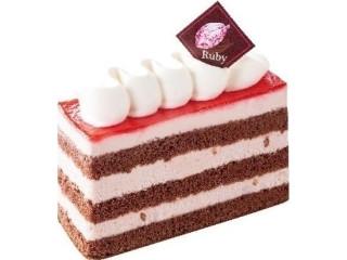 不二家 ルビーチョコレートケーキ