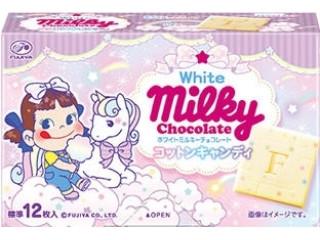 ホワイトミルキーチョコレート コットンキャンディ