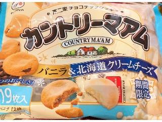 カントリーマアム バニラ&北海道クリームチーズ 19枚