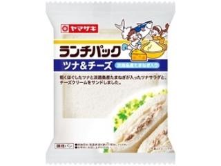 ヤマザキ ランチパック ツナ&チーズ 淡路島産たまねぎ入り 袋2個