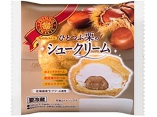 ヤマザキ PREMIUM SWEETS ひとつぶ栗のシュークリーム 北海道産生クリーム使用 袋1個