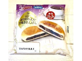 ヤマザキ ヤマザキ×ウェルシア 糖質を抑えた平焼きあんぱん 袋1個