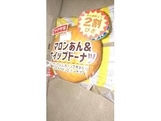 ヤマザキ マロンあん&ホイップドーナツ 1個
