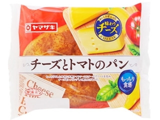 チーズとトマトのパン