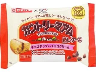 カントリーマアム蒸しケーキ チョコチップ入りチョコクリーム
