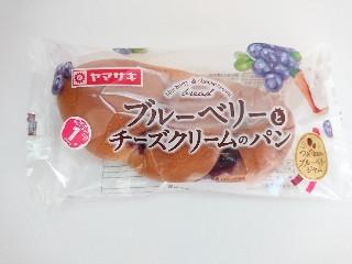 ヤマザキ ブルーベリーとチーズクリームのパン