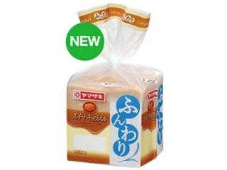 ヤマザキ ふんわり食パン スイートキャラメル 袋6枚