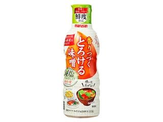 マルサン 香りつづくとろける味噌 減塩 あわせ ボトル410g