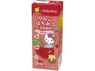 マルサン ハローキティ 豆乳飲料 りんごはちみつ パック200ml