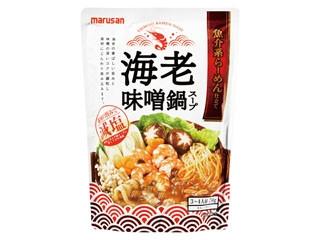 マルサン 魚介系らーめん仕立て 海老味噌鍋スープ 袋750g