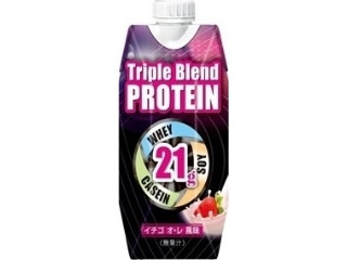 Triple Blend PROTEIN イチゴ オ・レ