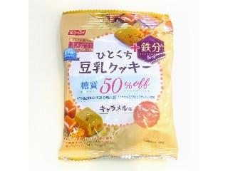 ニッスイ EPA+ ひとくち豆乳クッキー キャラメル味 オレンジピール入り 28g
