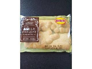 ローソン 凸凹としたビスケットパイ(チョコ&マロンクリーム) 袋1個