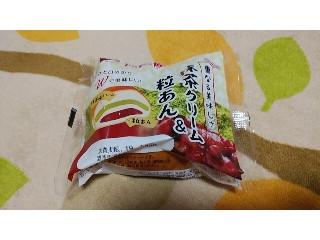 神戸屋 抹茶クリーム&粒あん 袋1個