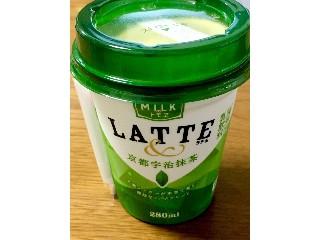 ラテ&京都宇治抹茶