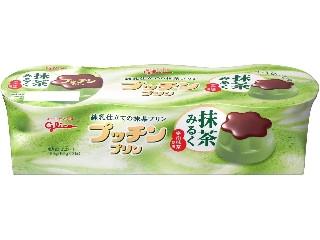 グリコ プッチンプリン 抹茶みるく カップ65g×3