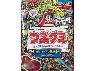 春日井 つぶグミ ヨーグルト味&苺ヨーグルト味 袋70g