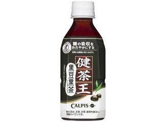 カルピス 健茶王 黒豆黒茶 ペット350ml