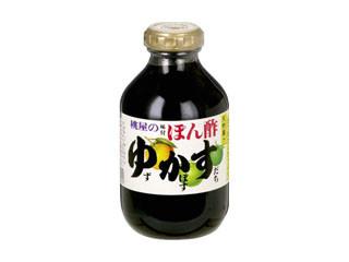 桃屋 味付ぽん酢 ゆかす 瓶300ml