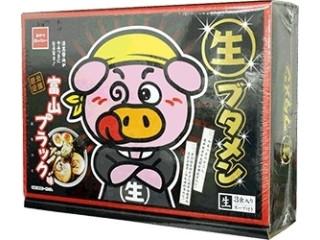 おやつカンパニー 生ブタメン 富山ブラック味 箱3食