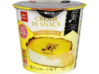 クリームインスナック パブロのチーズタルト味